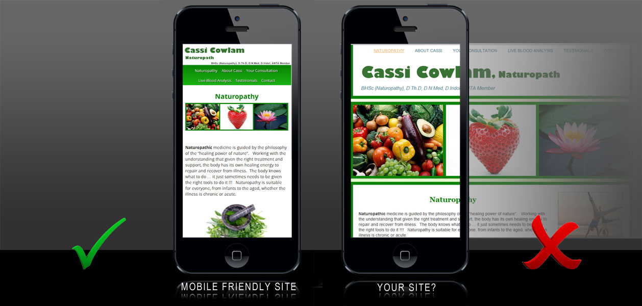 Is your site, Mobile Friendly